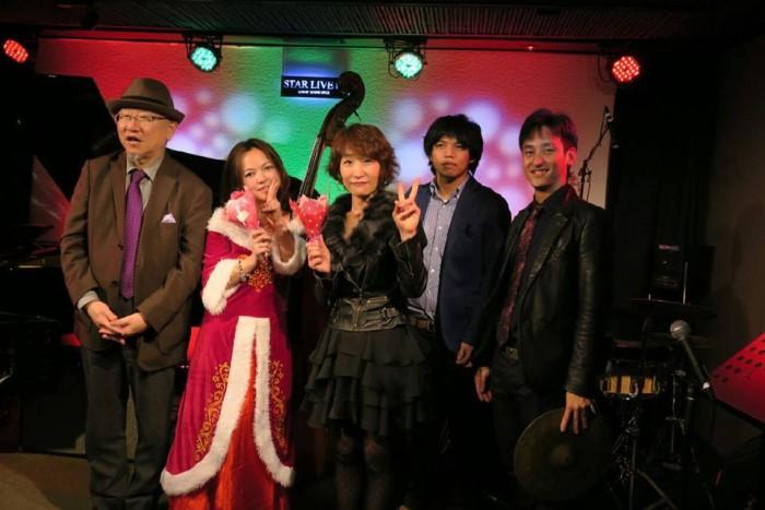 12月22日 中島さより 大阪上本町 STAR LIVE U6 でライブをしました。
